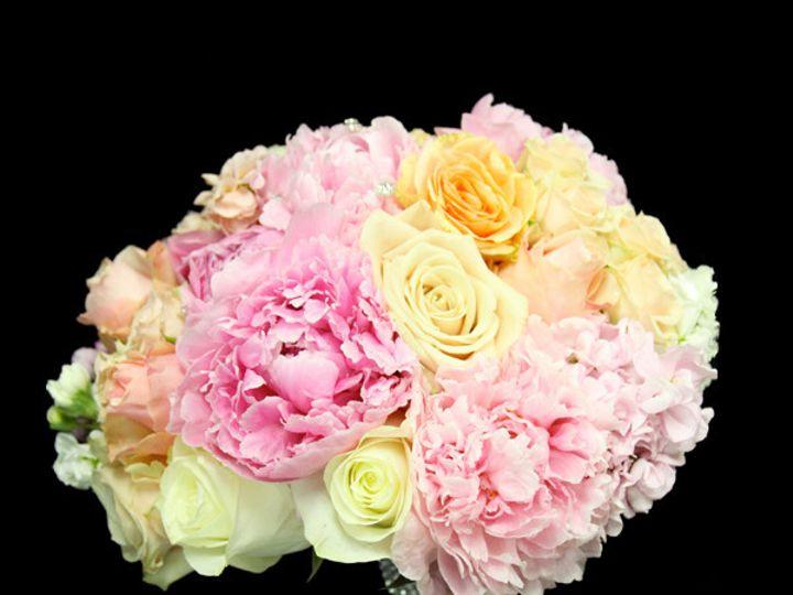 Tmx 1393522428033 Pinkpeonypeachcrea Virginia Beach, Virginia wedding florist