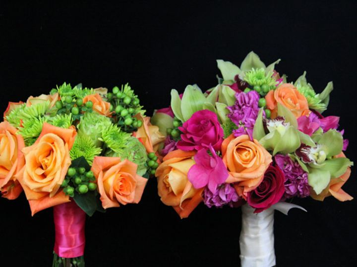 Tmx 1394224499268 3bqtsorggrnpin Virginia Beach, Virginia wedding florist