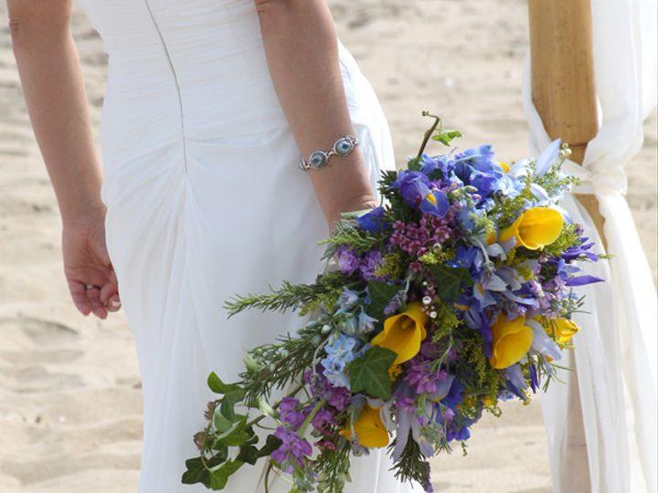 Tmx 1394224512083 Bluepurpyellocasc Virginia Beach, Virginia wedding florist