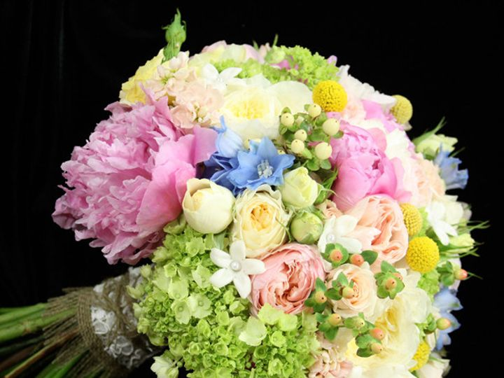 Tmx 1394224517808 Chrissycreampinkblus Virginia Beach, Virginia wedding florist