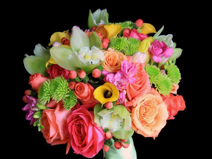Tmx 1394224522055 Coralgrnyello Virginia Beach, Virginia wedding florist