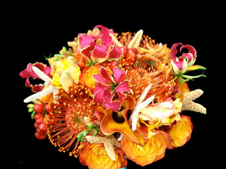 Tmx 1394224543249 Orangestarfis Virginia Beach, Virginia wedding florist