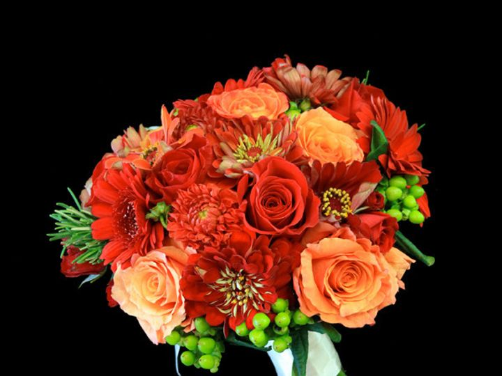 Tmx 1394224549922 Redorgzinni Virginia Beach, Virginia wedding florist