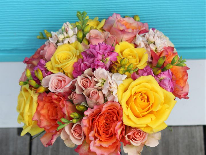 Tmx 1394224572067 Yeloorgpinknavyrib Virginia Beach, Virginia wedding florist