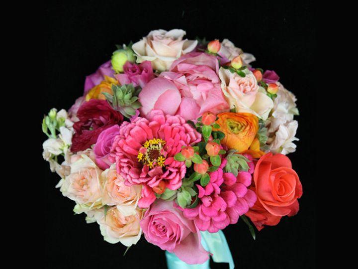 Tmx 1394224574401 Zinniapnkorgbq Virginia Beach, Virginia wedding florist