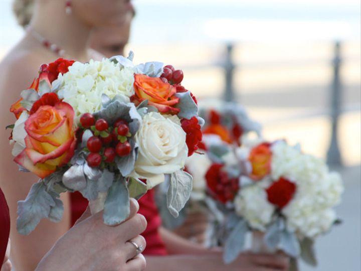 Tmx 1394231849045 Bmsredwhtorgsilv Virginia Beach, Virginia wedding florist