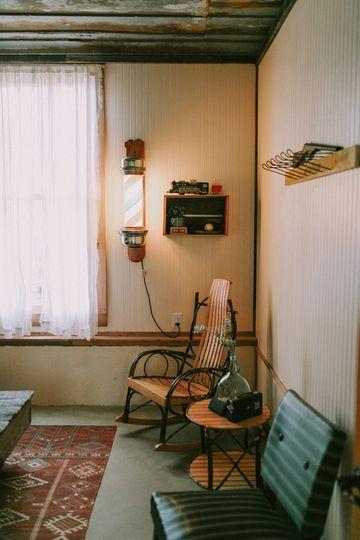 Get-ready room