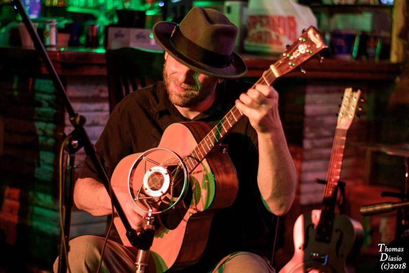 Brad Pope on Tenor Guitar, Mandolin, Resophonic Acoustic Guitar, Vocals
