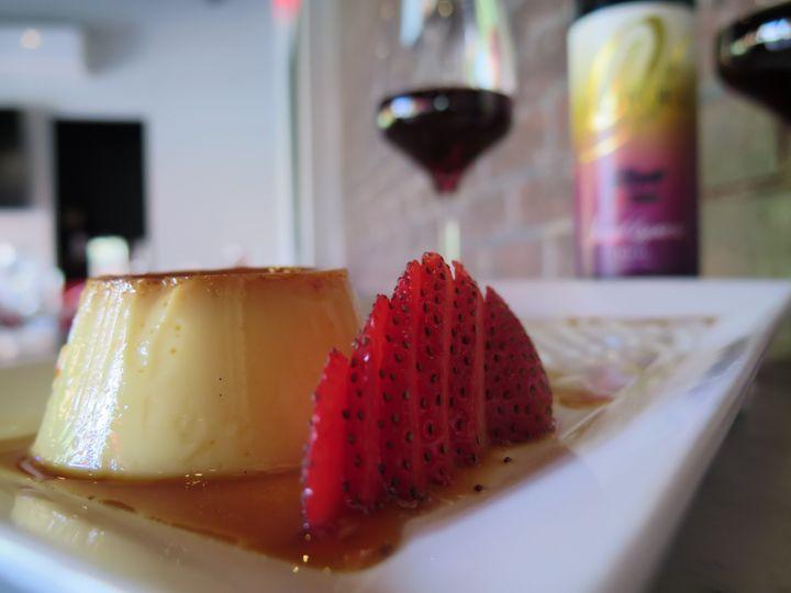 dessert and port 2