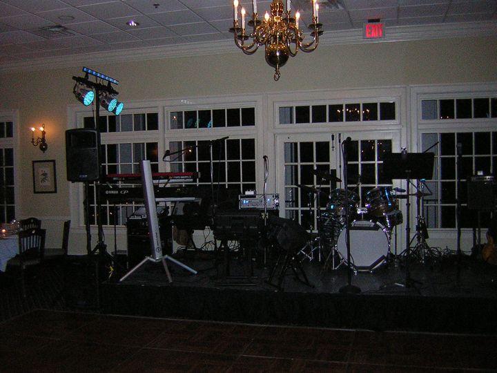 Setup for a private event...