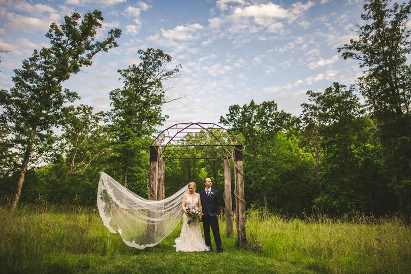 Couple in a clearing - Bryson Buehrer Photography