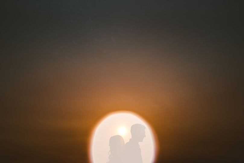 Happy couple at sunset - Bryson Buehrer Photography