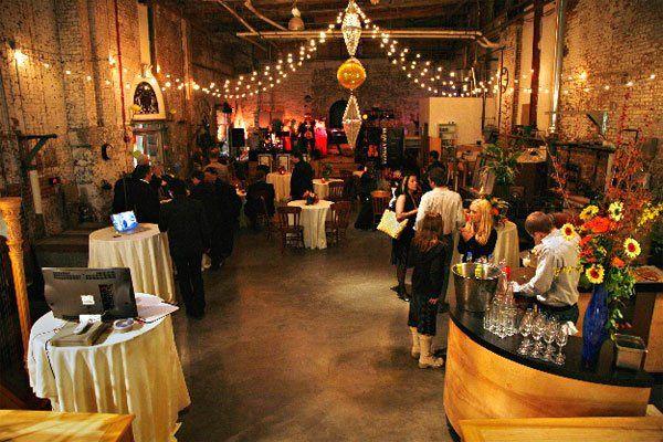 Corradetti glass studio gallery venue baltimore md weddingwire 800x800 1315347329419 partygroup3 junglespirit Images