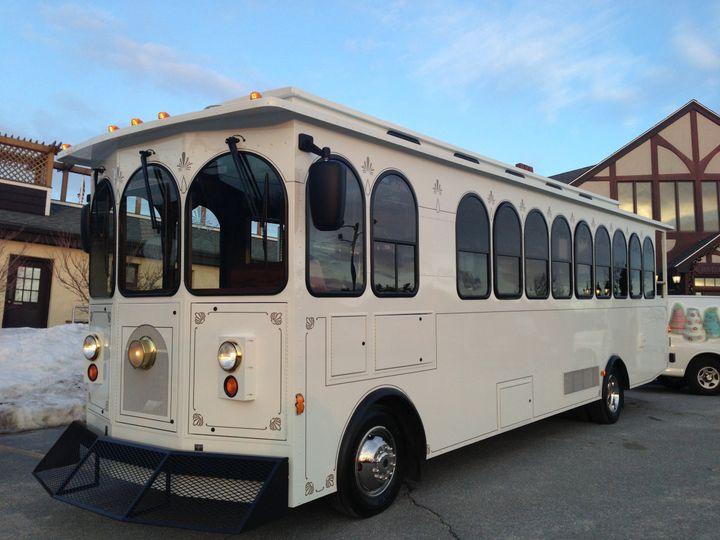 Tmx 1365606555279 Trolley Exterior  Hcc Haverhill, MA wedding transportation
