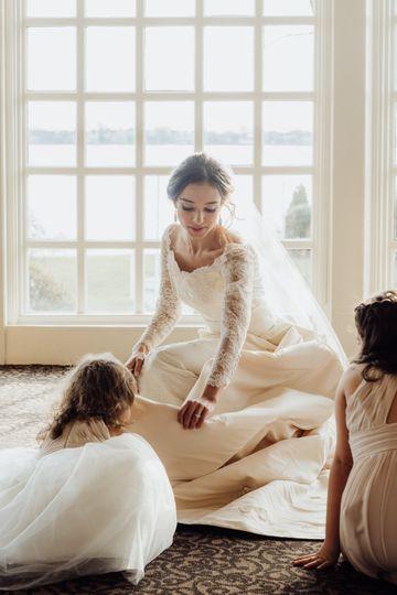 The wedding helpers - ALEXANDRA BLAIR PHOTO