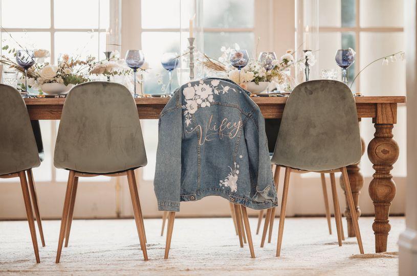 Rustic table setting - ALEXANDRA BLAIR PHOTO