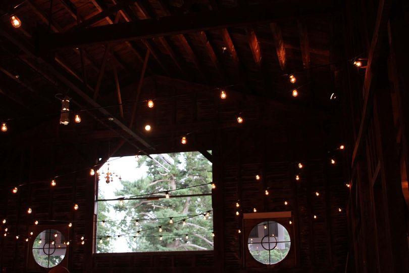 Lighting in the barn