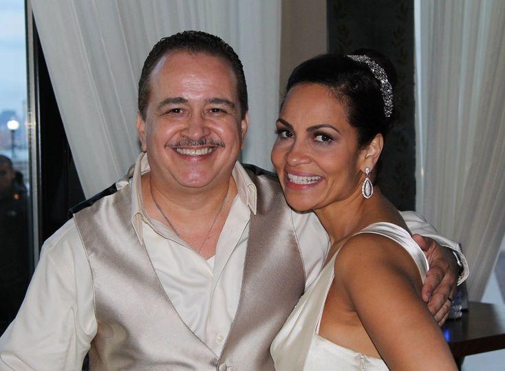 Famous salsa singer Ray Sepulveda and his wife Margarita @ Son Cubano WNY,NJ