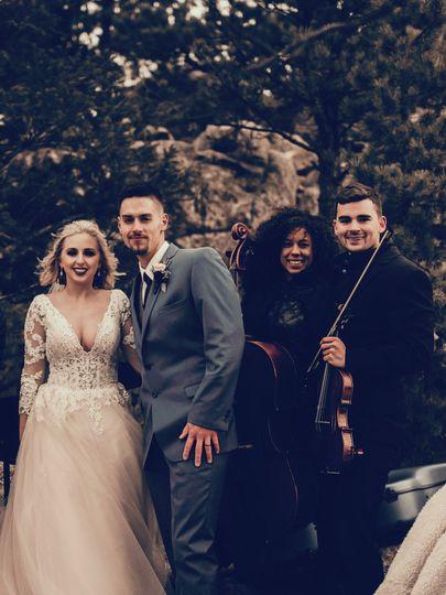 Wedding at the reservoir
