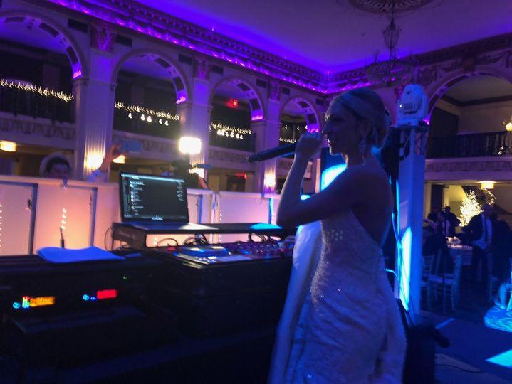 our brides get to dj