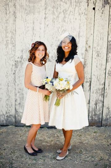 Vintage Seaside Barn Wedding, Cayucos, CA | Floral Designs by Christa Rose