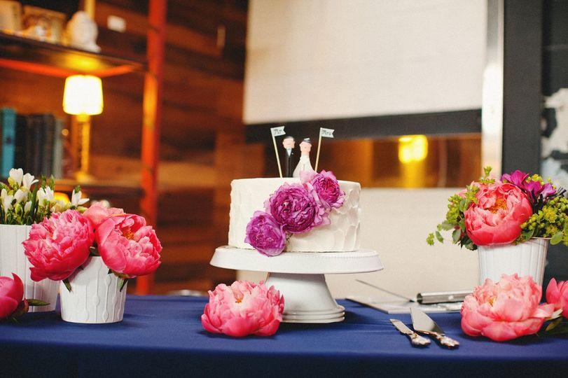 Smog Shoppe Wedding | Floral Designs by Christa Rose