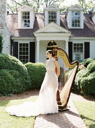 Meadowlark 1939 Bride and Harp