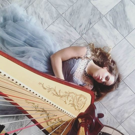 Wedding Harpist, Nichole