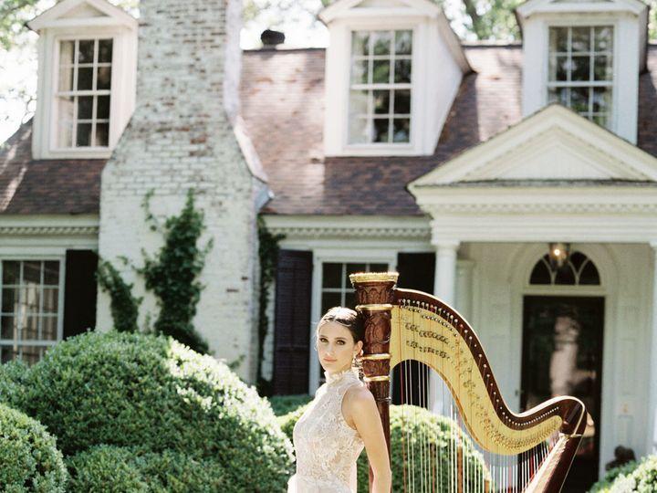 Tmx Glamour Shot Harp Bride Shauna Veasey Photography 51 320187 160515331334331 Atlanta, Georgia wedding ceremonymusic