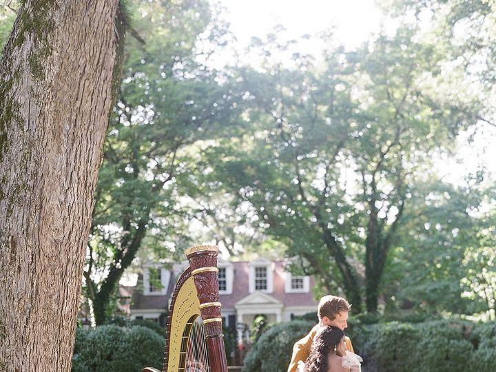 Tmx Meadowlark 1939 Editorial Harp Cello Wedding Musician Bride Groom Outdoor Wedding 51 320187 160515325045625 Atlanta, Georgia wedding ceremonymusic