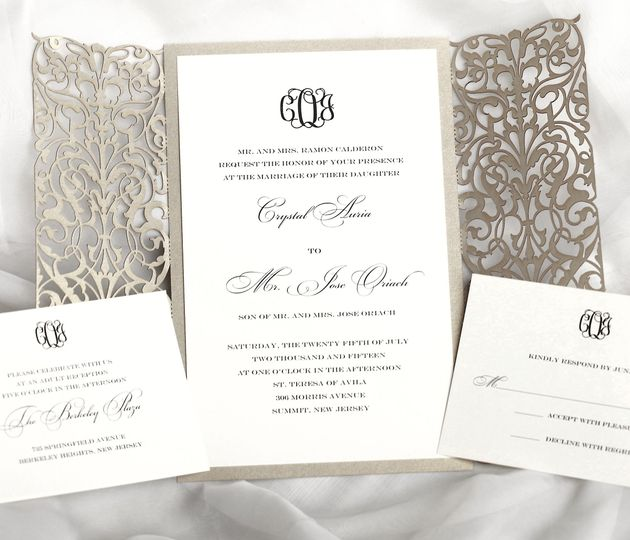 First Impressions Calligraphy - Invitations