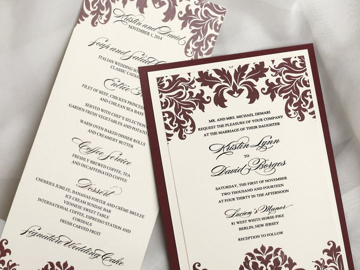 Tmx 1467312263441 1 Egg Harbor Township, NJ wedding invitation