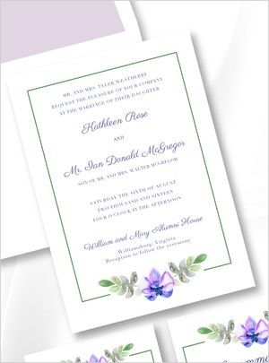 Tmx 1517087607 19e35c4a041a3138 1517087606 B742620559bae90f 1517087604737 9 The Williamsburg 2 Egg Harbor Township, NJ wedding invitation