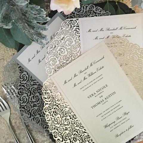 Tmx 1519227696 607182dc7a41c9cb 1519227696 3c870ac86dd3f912 1519227696507 2 Roses A9 A384c87c  Egg Harbor Township, NJ wedding invitation
