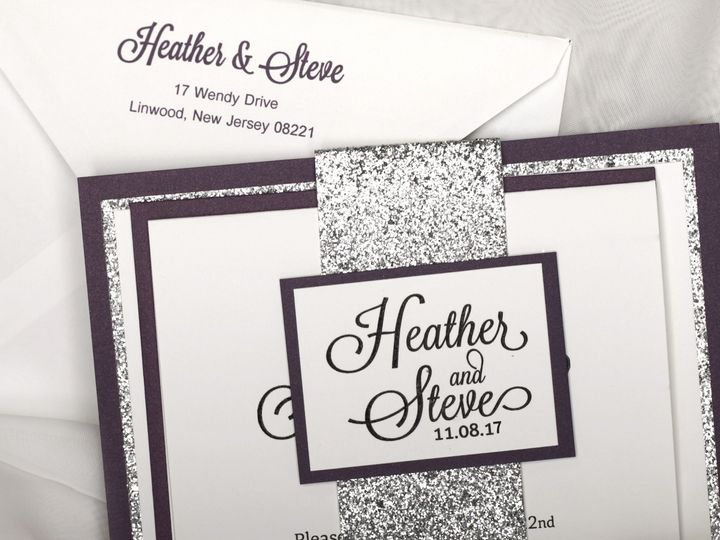 Tmx 1519228164 Bdf69ed621480b8f 1519228162 A2d3d5f15dfd09ef 1519228159442 2 Heather Steve Egg Harbor Township, NJ wedding invitation