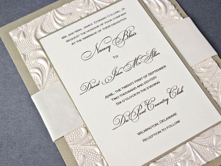 Tmx 1519228377 711ae06924bff414 1519228376 A753183d7222e1ff 1519228376143 3 074 Egg Harbor Township, NJ wedding invitation