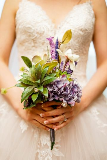 Bride's maid's bouquet