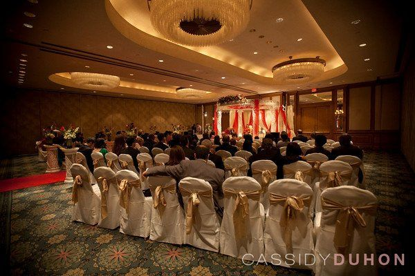 Ceremony with Mandap in Grand Ballroom