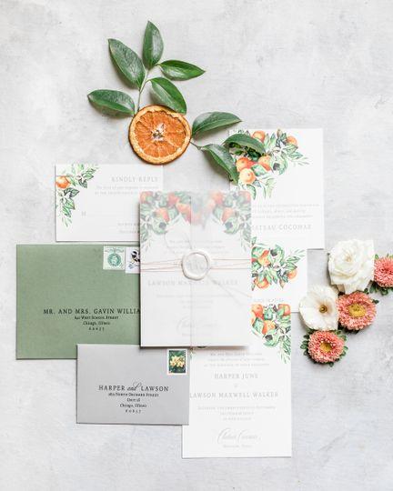 Paper/Invitation Suite