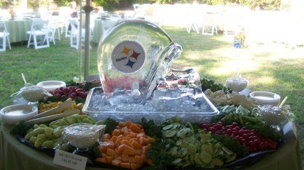 Tmx 1226370925930 HELMENTVEGFRUITTABLE Hayes wedding catering