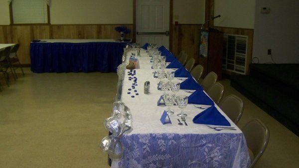 Tmx 1226371301680 TableSetupBlue Hayes wedding catering