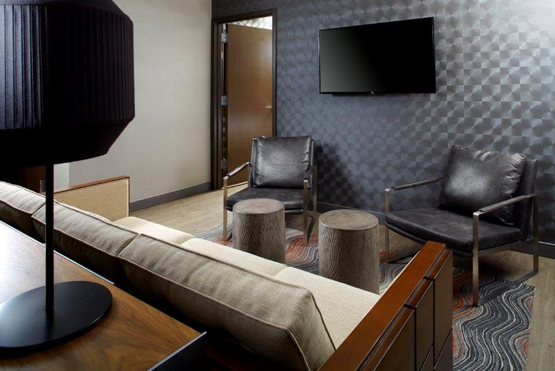 King terrace suite indoors