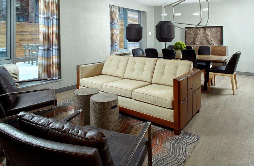 King terrance suite sample setup