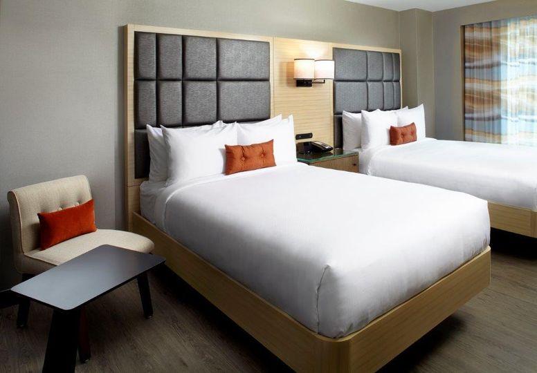 Standard double/double room