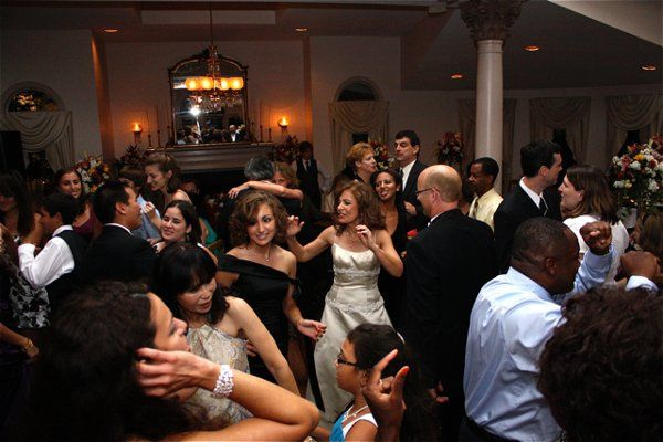 Wedding Party To The Floor!  It's one of the best ways to get the dance started by calling the...