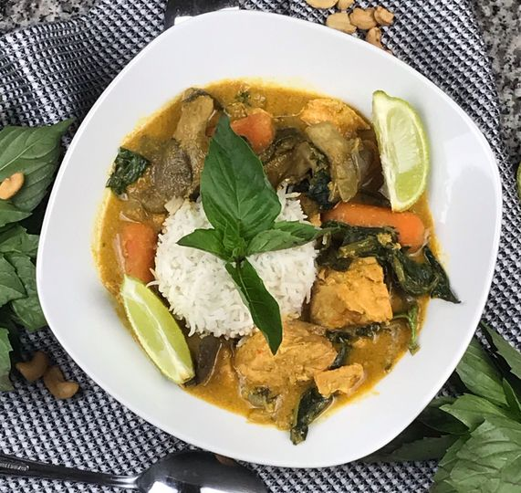 Red Salmon Curry