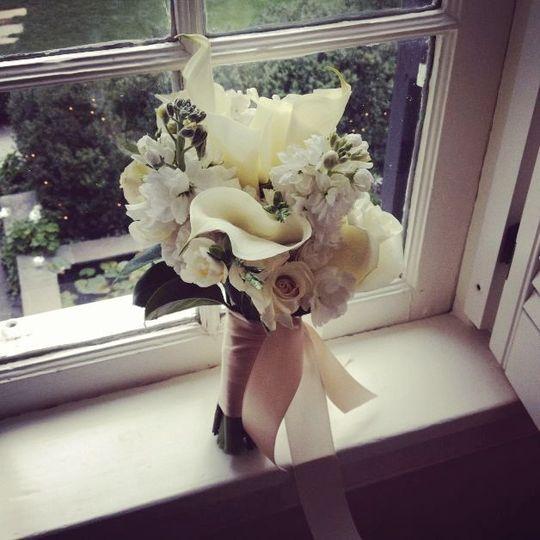 Maid of Honor Flowers | Fall Wedding
