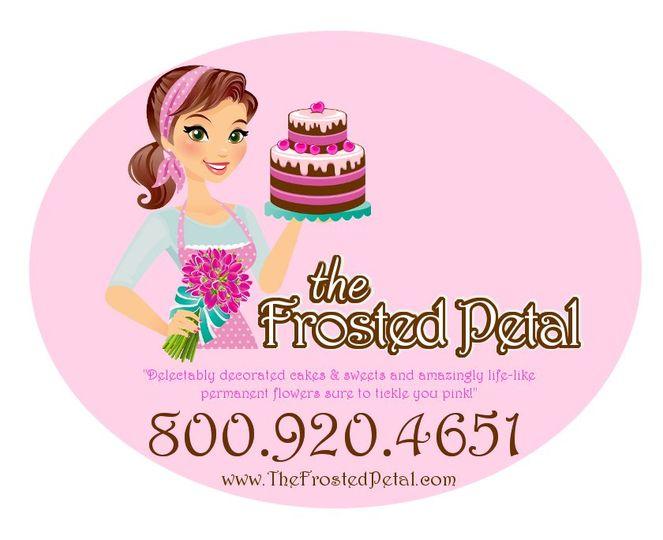 FrostedPetalLogoOval
