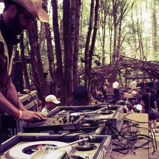 Pickathon woods stage