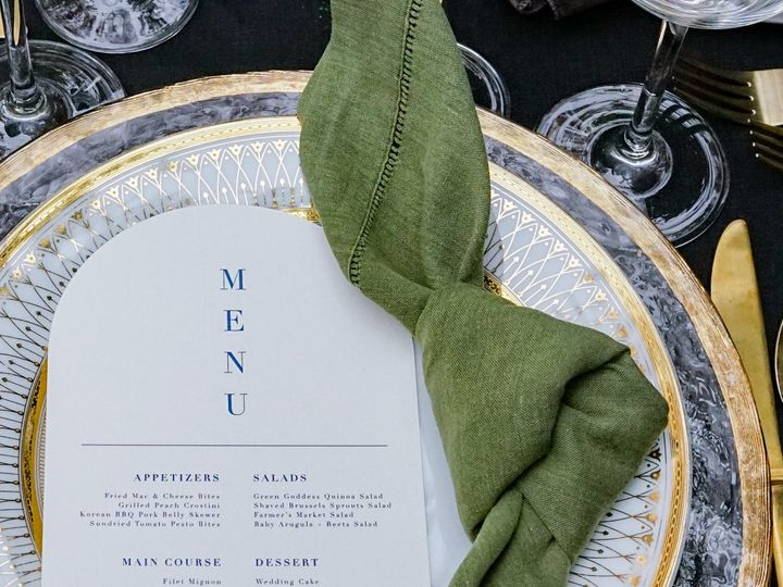 Tmx Styled Shoot Green Knot With Menu 51 1903187 161496392760528 Modesto, CA wedding planner